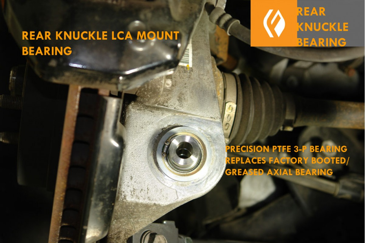 2is 3gs Rear Knuckle Lower Rear Press In Spherical Bearing