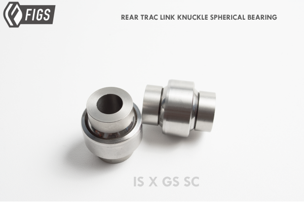 REAR KNUCKLE TRAC LINK PRESS-IN SPHERICAL BEARING  BUSHING REPLACEMENT