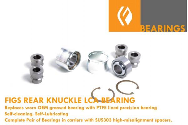 IS300, GS300/430/400 SC430 REAR KNUCKLE LOWER REAR PRESS-IN SPHERICAL BEARING