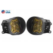 SS3 LED Fog Light Kit for 2008-2013 Lexus IS-F Yellow SAE/DOT Fog Sport Diode Dynamics