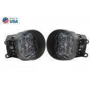 SS3 LED Fog Light Kit for 2008-2013 Lexus IS F White SAE/DOT Fog Max Diode Dynamics