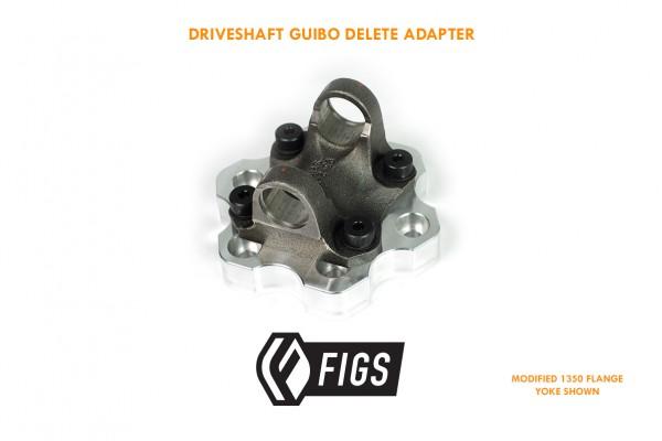 DRIVESHAFT GUIBO DELETE ADAPTER (DGDA) FOR TOYOTA/LEXUS DIFF