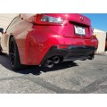 PPE RC-F ELITE SERIES STAINLESS STEEL DUAL EXHAUST
