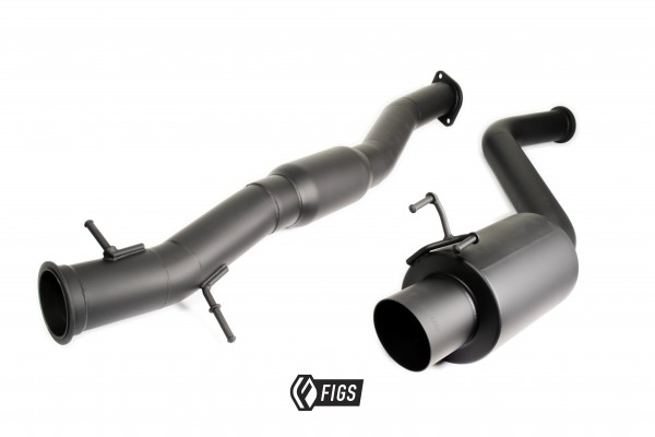 FIGS IS300 CAT BACK EXHAUST