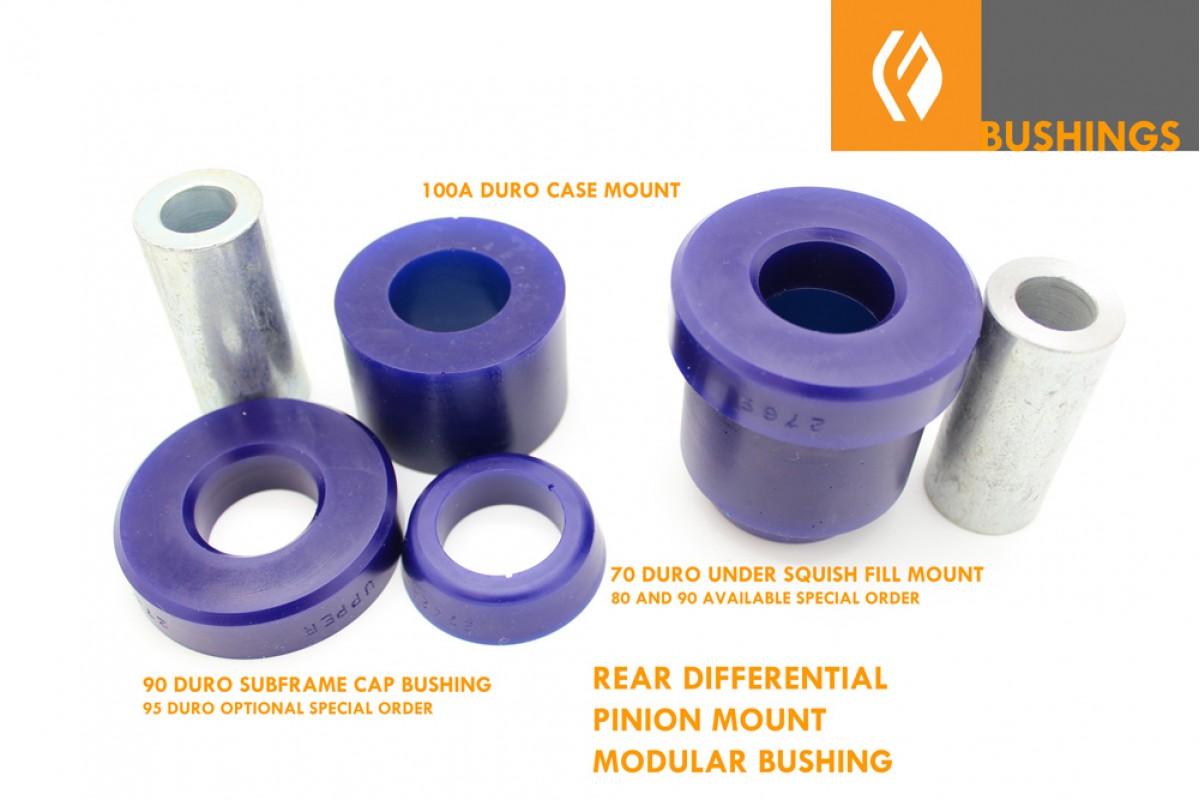 Rear Differential Mount Polyurethane Bushing Kit Is300