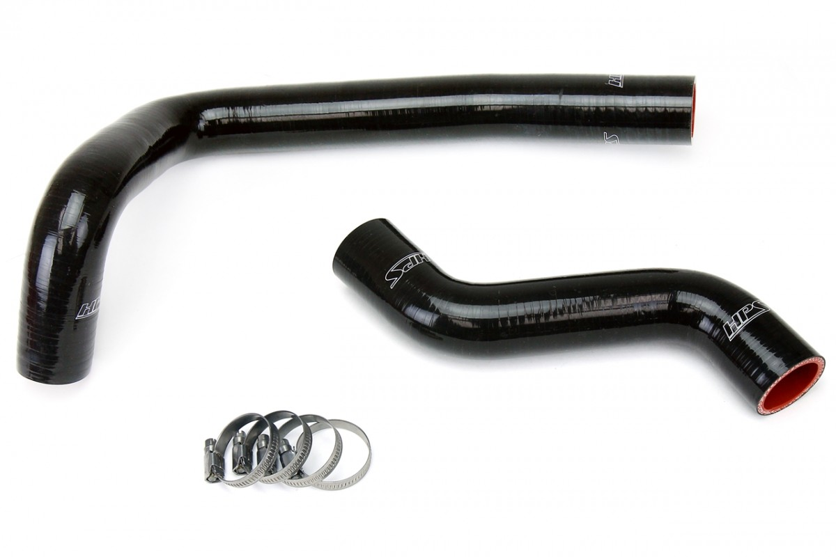 Mazda 93 97 Rx7 Fd3s Hps Black High Temp Reinforced Silicone Rx 7 Wiring Harness Radiator Hose Kit Coolant For