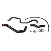 HPS Black Reinforced Silicone Radiator Hose Kit Coolant for Infiniti 03-06 G35 Sedan