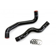 HPS Black Reinforced Silicone Radiator Hose Kit Coolant for Infiniti 08-13 G37x Coupe Sedan