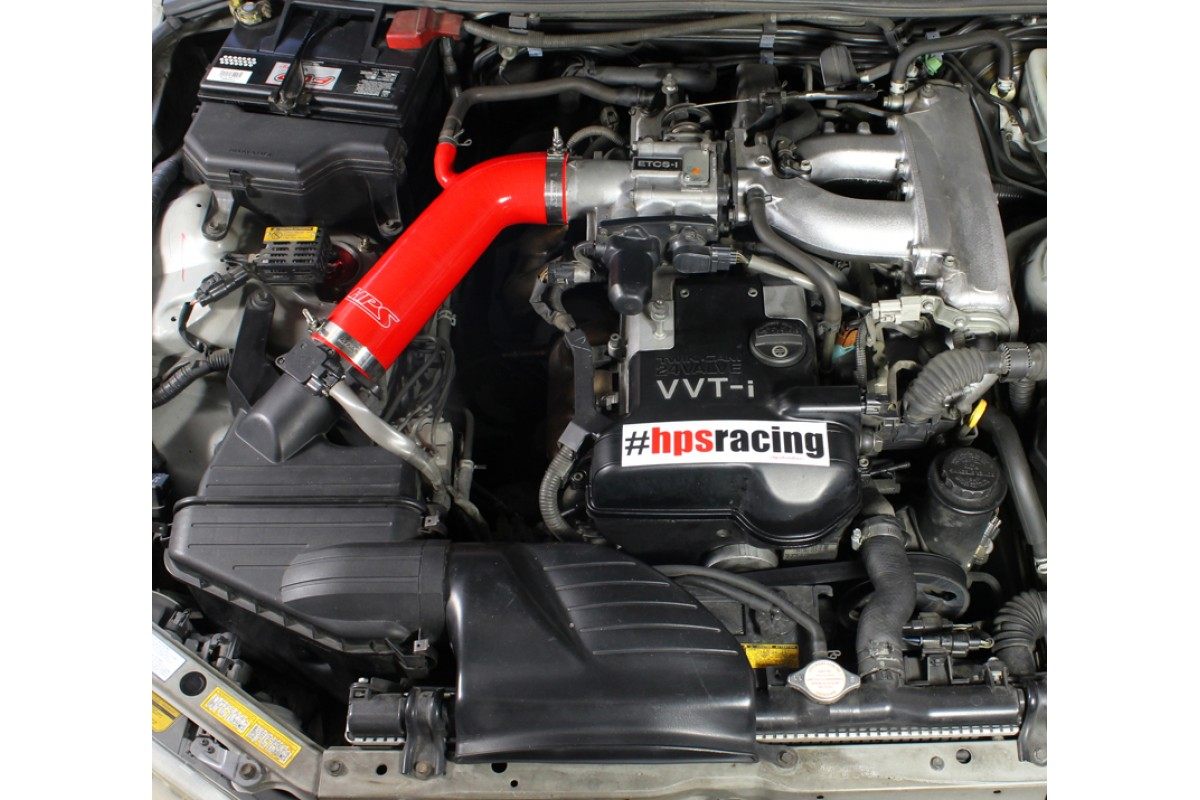... HPS RED REINFORCED SILICONE POST MAF AIR INTAKE HOSE KIT FOR LEXUS 01-05 IS300  sc 1 st  FIGS Engineering & Lexus 01-05 IS300 I6 3.0L HPS Red High Temp Reinforced Silicone Post ...