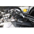 HPS Black Reinforced Silicone Heater Hose Kit for Toyota 17-20 86