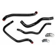 HPS BLACK REINFORCED SILICONE RADIATOR + HEATER HOSE KIT FOR HONDA 08-12 ACCORD 2.4L 4CYL LHD