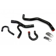 HPS BLACK REINFORCED SILICONE RADIATOR AND HEATER HOSE KIT COOLANT FOR FORD 96-01 MUSTANG GT 4.6L V8