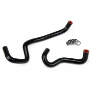 HPS BLACK REINFORCED SILICONE HEATER HOSE KIT COOLANT FOR LEXUS 03-09 GX470 4.7L V8 LEFT HAND DRIVE