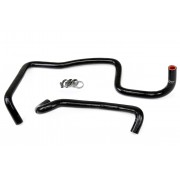 HPS Black Reinforced Silicone Heater Hose Kit Coolant for Jeep 06-07 Grand Cherokee WK1 SRT8 6.1L with rear heater