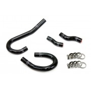 HPS Black Reinforced Silicone Heater Hose Kit Coolant for Jeep 12-15 Grand Cherokee WK2 SRT8 6.4L