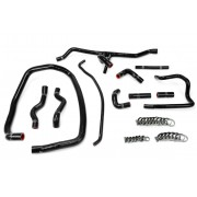 HPS BLACK REINFORCED SILICONE RADIATOR + HEATER HOSE KIT COOLANT FOR BMW 96-99 E36 M3 LEFT HAND DRIVE