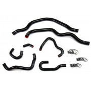 HPS BLACK REINFORCED SILICONE RADIATOR AND HEATER HOSE KIT COOLANT FOR HONDA 00-05 S2000