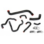 HPS BLACK REINFORCED SILICONE RADIATOR AND HEATER HOSE KIT COOLANT FOR HONDA 06-09 S2000
