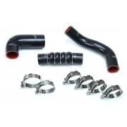 HPS Black Reinforced Silicone Intercooler Hose Kit for Honda 16-18 Civic 1.5L Turbo