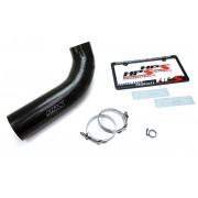 HPS Black Reinforced Silicone Post MAF Air Intake Hose Kit for Jeep 12-17 Wrangler JK & Unlimited 3.6L V6
