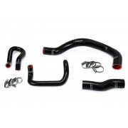 HPS BLACK SILICONE IS300 1ST GEN RADIATOR + HEATER HOSE KIT COOLANT OEM REPLACEMENT 57-1641-BLK