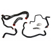 HPS 57-1501-RED Red Silicone Coolant Hose Kit front radiator + rear engine
