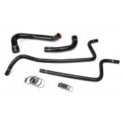HPS Black Reinforced Silicone Radiator + Heater Hose Kit for Jeep 00-01 Wrangler TJ 4.0L Left Hand Drive