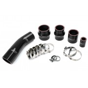 HPS Black High Temp Reinforced Silicone Intercooler Hose Boots Kit for Toyota 1991-1995 MR2 2.0L Turbo