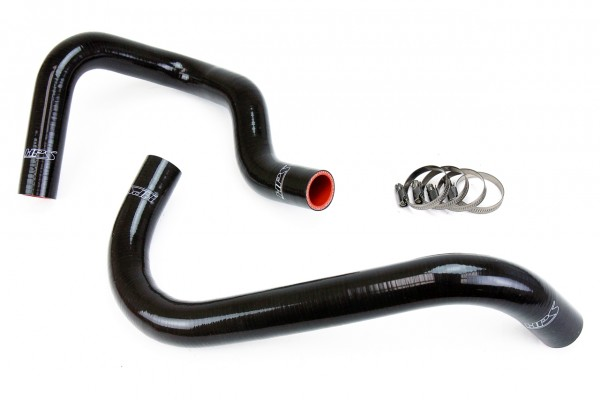 HPS Reinforced Black Silicone Radiator Hose Kit Coolant for Toyota 95-04 Tacoma 2.4L & 2.7L 4Cyl