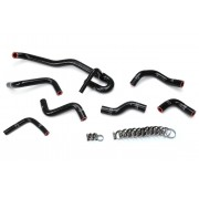 HPS Reinforced Black Silicone Heater Hose Kit Coolant for Toyota 89-92 4Runner 3.0L V6 with Rear Heater Left Hand Drive