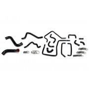 HPS Black Reinforced Silicone Radiator, Heater and Ancillary Hose Kit Coolant for Subaru 2005 Impreza WRX 2.0L Turbo