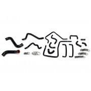 HPS Black Reinforced Silicone Radiator, Heater and Ancillary Hose Kit Coolant for Subaru 06-07 Impreza WRX 2.5L Turbo