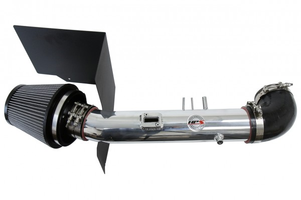 HPS Performance Cold Air Intake Kit 05-07 Toyota Sequoia 4.7L V8, Includes Heat Shield, Polish