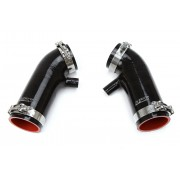 HPS BLACK REINFORCED SILICONE POST MAF AIR INTAKE HOSE KIT FOR INFINITI 07-08 G35 SEDAN 3.5L VQ35HR