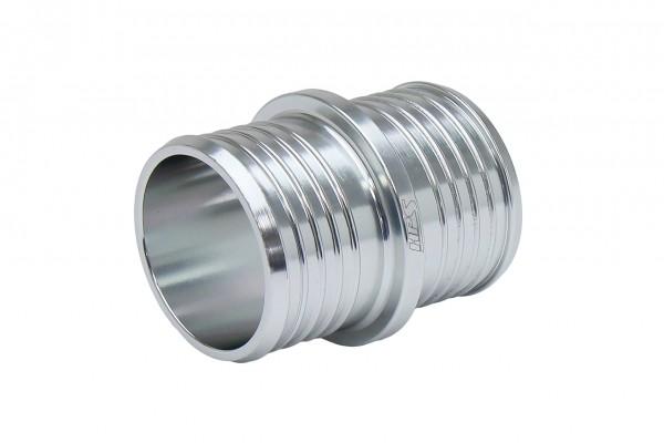 """HPS 1"""" Billet 6061 Aluminum Joiner Hose Union Connector"""