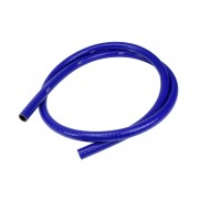 """HPS 1"""" (25mm), FKM Lined Oil Resistant High Temperature Reinforced Silicone Hose, 9 Feet, Blue"""