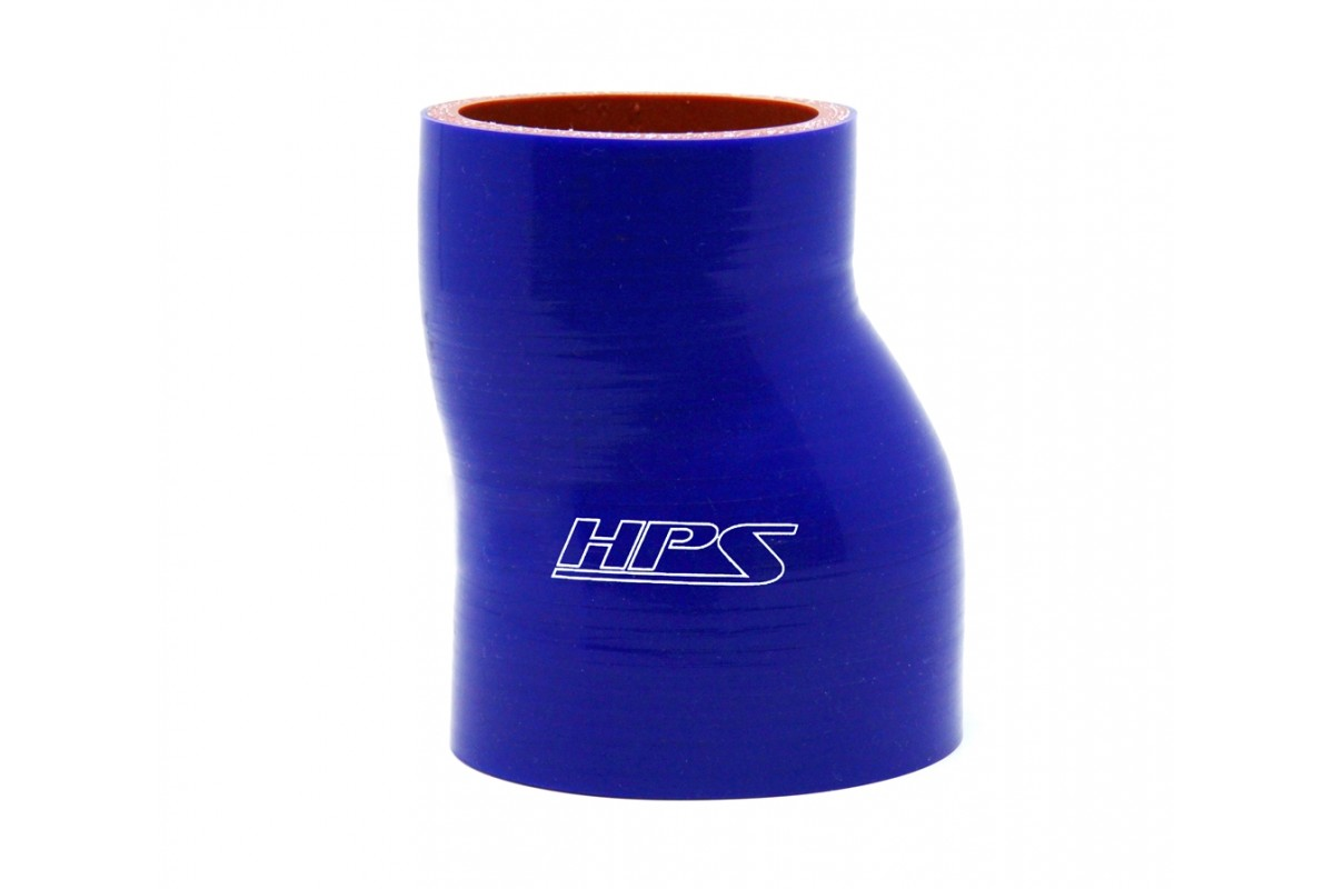 Temperature High Temp 4-Ply Reinforced 3 Length Blue 65 Psi Max Pressure HPS 4-1//8 ID SC-8633-BLUE Silicone Silicone Coupler Hose 350F Max