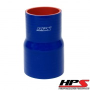 """HPS 4"""" - 6"""" ID , 6"""" Long High Temp 4-ply Reinforced Silicone Reducer Coupler Hose Blue (102mm - 152mm ID , 152mm Length)"""