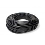 "HPS 1/2"" (13MM) ID BLACK HIGH TEMP SILICONE VACUUM HOSE - 100 FEET PACK"