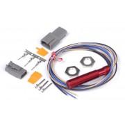 """Red"" Single Channel Hall Effect Sensor M12x1.0"