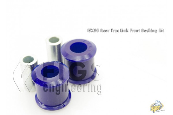 GEN2 IS ISX50 REAR LOWER TRACTION LINK FRONT MOUNT POLYURETHANE BUSHING