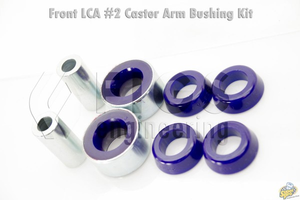 GEN 1 GS300 JZS147 CASTER ARM #2 PRESS-IN POLYURETHANE BUSHINGS