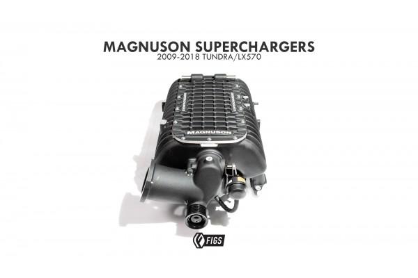 MAGNUSON SUPERCHARGER 5.7L  TOYOTA TUNDRA STD (NON FLEX FUEL) 2009-2018
