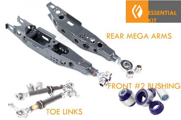 FIGS MEGA ARM ESSENTIAL KIT FOR LOWERING IS300 2GS SC430 JZX110