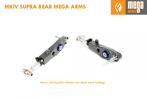 REAR ADJUSTABLE MEGA ARM LCA RACE/TRACK VERSION  MKIV SUPRA