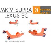 SC300 SC400 MKIV SUPRA FRONT OE UCA / LCA MEGA ARM KIT