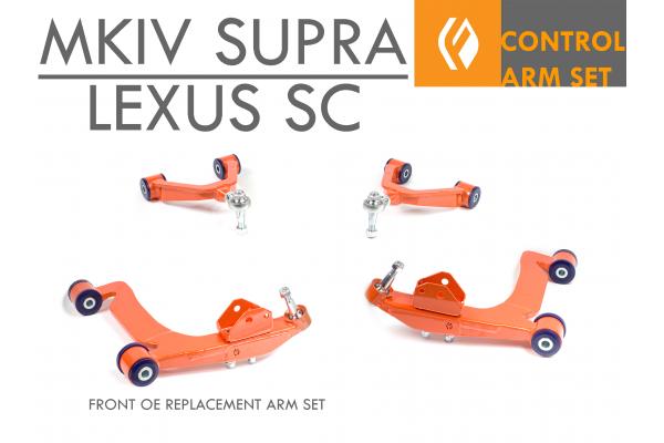 FRONT OE REPLACEMENT UCA / LCA MEGA ARM KIT SC300 SC400 MKIV SUPRA