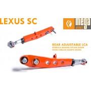 REAR ADJUSTABLE MEGA ARM LCA RACE VERSION SC300 SC400 1GS