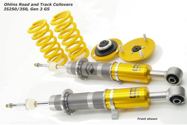 OHLINS ROAD AND TRACK COILOVERS 2IS IS350 IS250 2006-2012