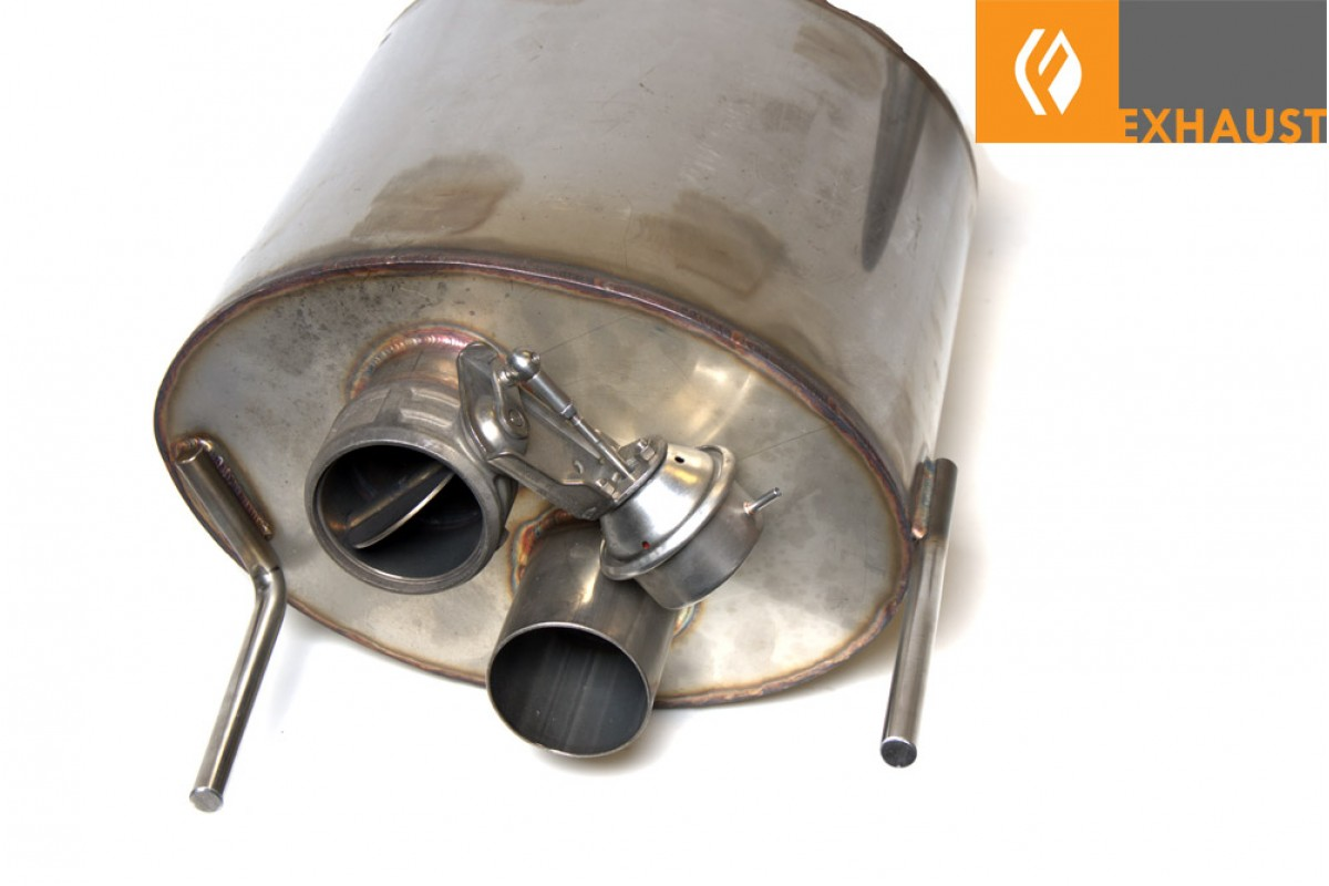 PPE IS-F Stainless Dual Exhaust with Dual-Mode Muffler